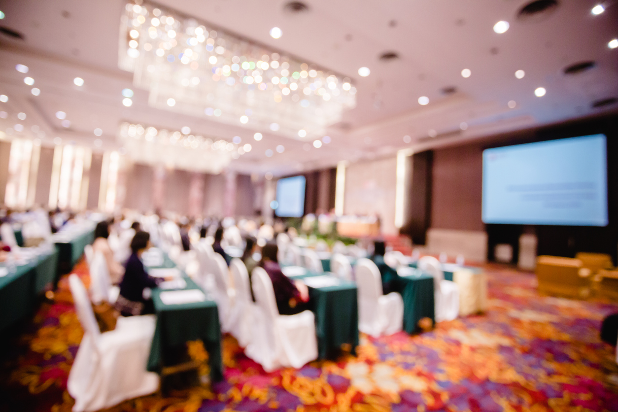 Hotel upgraded room for event planning and meetings
